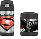 DC Comics Batman vs Superman Funtainer Thermos Bottle & Food Jar