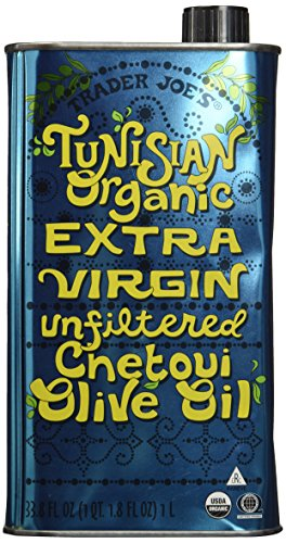 Trader Joe's Tunisian Organic Extra Virgin Unfiltered Chetoui Olive Oil