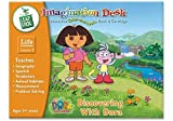 LeapFrog Toys Imagination Desk: Discovering with Dora Interactive Color-and-Learn Book and Cartridge