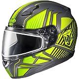 HJC Redline Mens CL-17 Snocross Snowmobile Helmet - MC-3H / X-Large