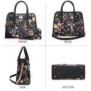DASEIN-Women-Handbags-Top-Handle-Satchel-Purse-Shoulder-Bag-Briefcase-Hobo-Bag-Set-2pcs