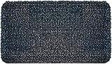 GrassWorx Clean Machine High Traffic Doormat, 18' x 30', Charcoal (10376337)