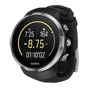 Suunto Unisex Spartan Sport Black (HR) Digital Display Outdoor Watch, Black Silicone Band, Round 50mm Case