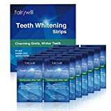 Fairywill Professional Teeth Whitening Strips Kit with Non-Slip Tech Safe for Enamel 28 Strips Whitening Effect LASTS 90 Days & Beyond