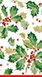 Hand Towels Christmas Decor Christmas Party Paper Guest Towels Holly Pk 30