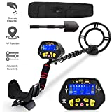 "RM RICOMAX Metal Detector for Adults -【High-Accuracy】Metal Detector Waterproof with LCD Display 【P/P Function & Discrimination Mode & Distinctive Audio Prompt】10"" Waterproof Search Coil for Underwater"