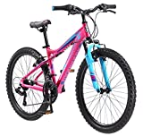 Mongoose Girls Silva Mountain Bicycle Pink 24' Wheel 13'/Small Frame Size