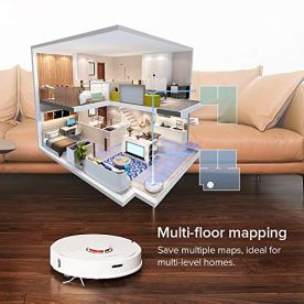 Roborock-S6-Robot-Vacuum-Robotic-Vacuum-Cleaner-and-Mop-with-Adaptive-RoutingMulti-Floor-Mapping-Selective-Room-Cleaning-Super-Strong-Suction-and-Extra-Long-Battery-Life-Works-with-AlexaWhite