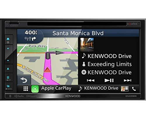 Kenwood Excelon DNX695S 6.8' WVGA double-DIN Navigation/DVD Receiver