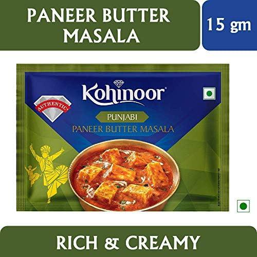 5199sV3xb L. AC  - Kohinoor Rajma Masala, 15g with Pav Bhaji Masala, 15g, Paneer Masala, 15g and Garam Masala, 40g Combo Pack