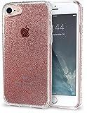 Silk iPhone 7 Clear Case, Rose Gold