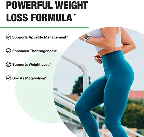 Nobi Nutrition Premium Fat Burner for Women - Thermogenic Supplement, Carbohydrate Blocker, Metabolism Booster an Appetite Suppressant - Healthier Weight Loss - Energy Pills - 60 Capsules 6