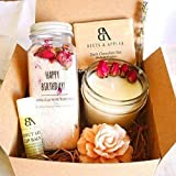 SHIP NEXT DAY Happy Birthday Gift Baskets for Women, Birthday Spa Gift Set, Relaxation Gifts for Her, Spa Kit, Unique Birthday Gift Basket, Gift Ideas for Women, Wife, Mom, Daughter, Best Friends