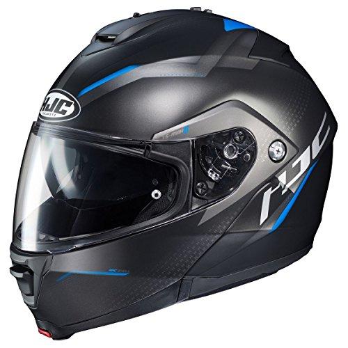 HJC IS-MAX 2 Modular Helmet - Dova (X-LARGE) (BLACK/BLUE)