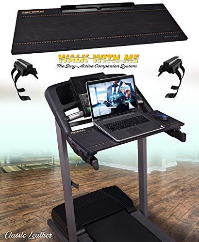 DigitalArts.ws Walk with Me – Detachable Treadmill Desk (Classic 32' Leather Theme)