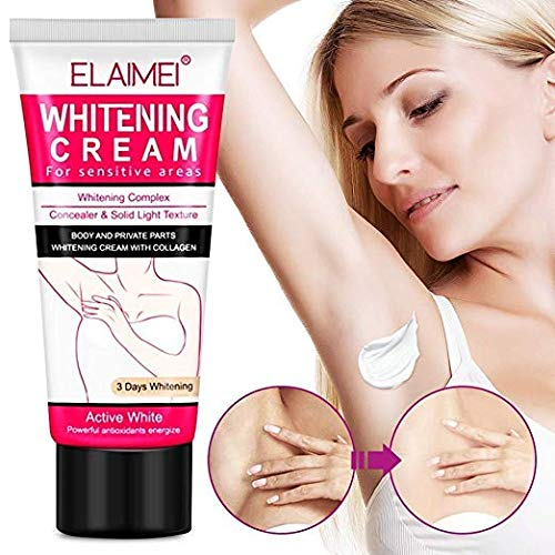 Whitening Cream Natural Underarm Lightening and Brightening Deodorant Cream Armpit Whitening Body Creams Underarm Repair Between Legs Knees Private Part