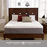 Sleep Innovations Shiloh 12-inch Memory Foam Mattress, Bed in a Box, Quilted Cover, Made in The USA, 10-Year Warranty - California King Size