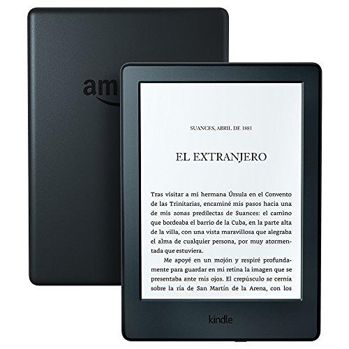 Kindle (Generación anterior - 8ma), pantalla E-ink sin reflejos, batería que dura semanas, color...