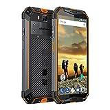 Ulefone Armor 3 Rugged Smartphone Unlocked, IP68 Waterproof Cell phone, Android 8.1 10300mAh Big Battery 4GB+64GB, Dual Sim 4G Global Version, 5.7' FHD+, Compass, GPS+Glonass, NFC, Shockproof (Orange)