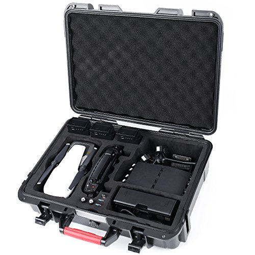 Smatree DA600 Carrying Case for DJI Mavic Air,Waterproof Drone Hard Case