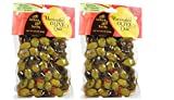Trader Joes Marinated Olive Duo with Lemon and Herbs (2 Pack), 8.8 OZ each