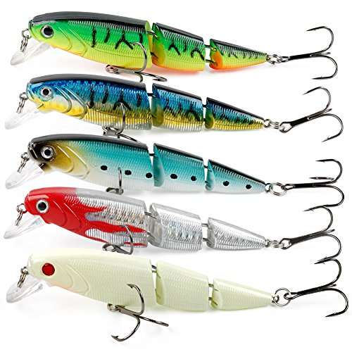 Top 10 best saltwater fishing lures best of 2018 reviews for Amazon fishing spinners