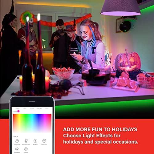 Sengled Smart LED Strip Lights, 32.8FT WiFi LED Lights Work with Alexa Google Home, Color Changing Smart Light Strip with APP and Voice Control, Alexa Lights for Bedroom Decor, Music Sync RGB Lights