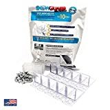 (10 Pack) Snow Guard with Perfect Seal Gasket and Screws Gutter Guards for Metal roof Roofing