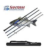 Santiam Fishing Rods Travel Rod 4 Piece 9'0'' 12-25lb Surf Rod