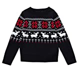 Product review for Sunsee Baby Girls Boys Christmas Deer Print Sweater Knit Outerwear