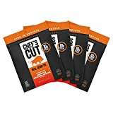 Chef's Cut Tender Real Steak Jerky, Chipotle Cracked Pepper, 2.5 Ounce (Pack of 4)
