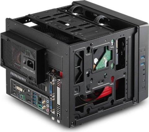 Cooler Master Elite 110 Cube パーツの組込例