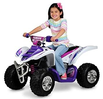 Yamaha Girls Raptor 12V Powered Ride-On - New For 2013!