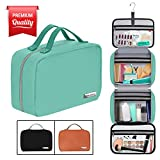 "Hanging Travel Toiletry Bag for Women and Men (100% Leak Proof & Doubles as a Cosmetic/Makeup Bag) | Large (34""x11"") 