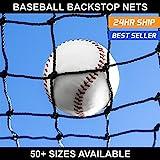 Net World Sports Baseball Backstop Nets - 50