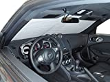 The Original Windshield Sun Shade, Custom-Fit for Nissan 370Z Coupe 2009-2019, Silver Series