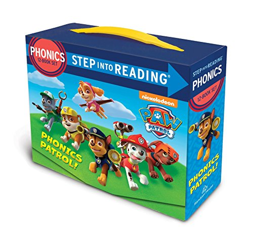Paw Patrol Phonics Box Set (Step into Reading) – LOW PRICE