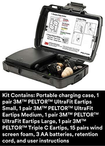 3M-PELTOR-TEP-200-Tactical-Earplug-Kit-NRR-23dB-Rechargeable-Noise-Reduction-Construction-Law-Enforcement