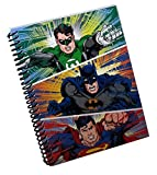DC Comics Justice League Mini Spiral Notebook (Green Lantern, Batman, & Superman)