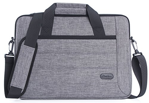 ProCase 11-12.5 Inch Laptop Sleeve Case Bag for Tablet Laptop Ultrabook MacBook Air Chromebook Notebook Acer Asus Dell HP Lenovo Galaxy Sony Toshiba with Handle and Carrying Shoulder Strap -Grey