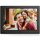 NIX Advance 8 Inch Widescreen Digital Photo Frame X08G - Digital Picture Frame with 16:10 IPS Display, Motion Sensor, USB and SD Card Slots and Remote Control