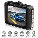 Atmeyol HD 1080P Multi-function Mini Driving Recorder 2.2 inch Display Screen On-Dash Video