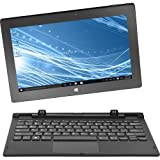 Insignia Flex 2in1 Touchscreen Tablet/Laptop (NS-P11W7100) - 32GB, Black, With Keyboard, 11.6' - Refurbished