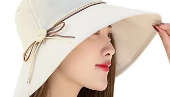 700293850387bb Womens Summer Beach Foldable Wide Large Brim Sun Hat Anti UV Sun Cap Bucket  Hats