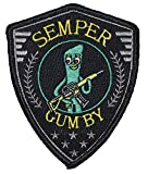 Semper Gumby - Always Flexable Tactical Embroidered Morale Patch