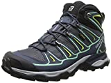 Salomon Women's X Ultra Mid 2 GTX-W, Grey Denim/Deep Blue/Lucite Green 8.5 M US