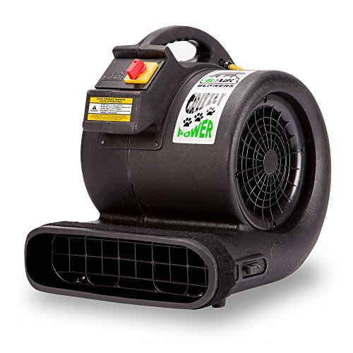 B-Air Grizzly GP-1 1 HP 3550 CFM Air Grizzly Mover Carpet Dryer Floor Fan for...
