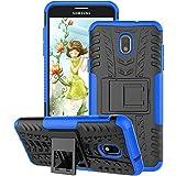 Samsung Galaxy J7 Case 2018, Galaxy J7 Refine Case, Galaxy J7V / J7 V Case 2018 (2nd Gen), Galaxy J7 Star Case, J7 Top, J7 Aura, J7 Aero, J7 Crown, J7 Eon, GSDCB Phone Case with Kickstand (Blue)