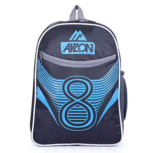 519lb5ZgW8L - Ayzon Backpack for Girls & Boys | Stylish Trendy Bag | Bag for Boys Kids Girls 15.6 inch Laptop Backpack | Waterproof School Bag (Black)