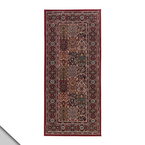 IKEA VALBY RUTA Rug Low Pile Runner Multicolor Traditional Deep Red